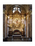 Austria, Melk Abbey, Side Altar of St Michael Giclee Print by Johann Michael Rottmayr