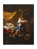 Odysseus and Diomedes in Rhesus's Tent Giclee Print by Corrado Giaquinto