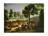Battle of Montebello, May 20, 1859 Giclee Print by Hector Giacomelli