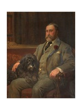 James Griffith Dearden, Lord of the Manor of Rochdale, 1897 Giclee Print by John Charlton