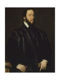 Portrait of Cardinal Antoine Perrenot of Granvelle Giclee Print by Antonis Mor