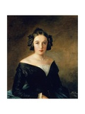 Portrait of Friederike Arnold, 1845 Giclee Print by Adolph Menzel