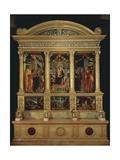San Zeno Altarpiece, Ca 1456-1460 Giclee Print by Andrea Mantegna