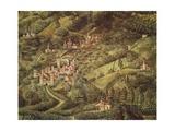The Magi King's Journey to Bethlehem, 1459 Giclee Print by Benozzo Gozzoli