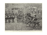 The Military Tournament at the Royal Agricultural Hall Giclee Print by John Charlton