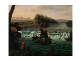 Falls of Saint Anthony, Upper Mississippi, 1847 Giclee Print by Henry Lewis
