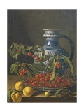 Still Life with Fruit and Jar, Ca 1773 Giclee Print by Luis Egidio Melendez