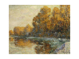 Edge of the River in Autumn; Bords De Riviere En Automne, 1912 Giclee Print by Gustave Loiseau