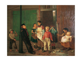 The Bully of the Neighbourhood Giclee Print by John George Brown