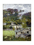 In the Mountains after the Storm Giclee Print by Enrico Reycend