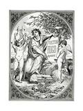 Victor Hugo Raconté Par Un Témoin De Sa Vie, 19th Century Giclee Print by Luc-Oliver Merson