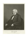 John Bright, British Radical and Liberal Politician Giclee Print by Alonzo Chappel