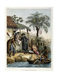 Costumes of Bahia, from 'Picturesque Voyage to Brazil', 1835 Giclee Print by Johann Moritz Rugendas