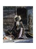 Figure of Old Tahitian, 1841-1848 Giclee Print by Maximilien Radiguet