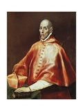 Portrait of Cardinal Juan De Travera Giclee Print by  El Greco
