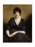 Dundas of Dundas Seated, Three-Quarter Length Wearing a Charcoal Dress Giclee Print by Sir Henry Raeburn
