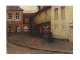 The Little Shop, Gerberoy; La Petit Boutique, Gerberoy, C.1906 Giclee Print by Henri Eugene Augustin Le Sidaner