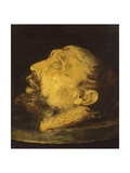 Head of John Baptist Giclee Print by Giovanni Battista Crespi