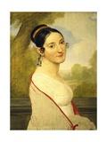 Portrait of Teresa Tambroni Cuty, Ca 1815 Giclee Print by Pelagio Palagi