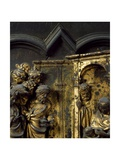 Adoration of Magi, Bronze Panel Giclee Print by Lorenzo Ghiberti