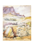 Rural House at the Foot of Mount Solaro, 1842 Giclee Print by Giacinto Gigante