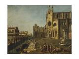 Campo Santi Giovanni E Paolo in Venice Giclee Print by Michele Marieschi