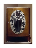 Art Deco Style Corner Cupboard, 1916 Giclee Print by Jacques-emile Ruhlmann