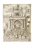 The Gate to the Arsenal in Venice, 1610 Giclee Print by Giacomo Franco
