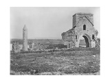 Ruins on Devenish Island, Lough Erne, Ireland, C.1890 Giclee Print by Robert French