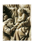 Adoration of Magi, Detail from Pulpit Giclee Print by Nicola Pisano