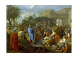 Entry of Christ into Jerusalem Giclee Print by Charles Le Brun