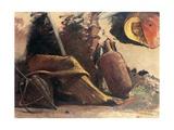 Still Life with Pumpkin, Circa 1844 Giclee Print by Giacinto Gigante