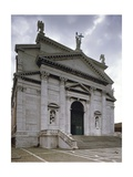 Italy, Venice, Basilica of Most Holy Redeemer, Facade Giclee Print by Andrea Palladio