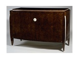 Art Deco Style Commode, Ranon Model, 1926 Gicleetryck av Jacques-emile Ruhlmann