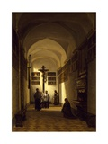 Interior of San Rocco Church in Parma Giclee Print by Luigi Marchesi