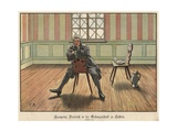 Crown Prince Frederick of Prussia Imprisoned at Kustrin Giclee Print by Carl Rochling