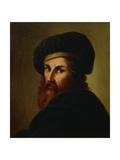 Portrait of Painter Ludovico Carracci Giclee Print by Lattanzio Querena