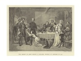 The Arrest of John Brown, a Lollard, Burned at Ashford in 1517 Giclee Print by Alexander Johnston