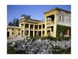 Glimpse of Villa Serego or Villa Santa Sofia Giclee Print by Andrea Palladio