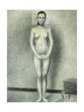 Models for the Study, a Model Standing Giclee Print by Georges Seurat