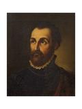 Portrait of Painter and Architect Giulio Romano Giclee Print by Lattanzio Querena