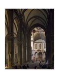 Interior of Florence Cathedral Giclee Print by Giovanni Pezzini