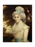 Portrait of Miss Frances Beresford Giclee Print by John Hoppner