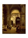 Santa Maria Del Popolo Church in Rome Giclee Print by Luigi Marchesi