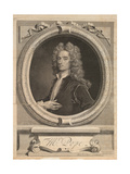 Frontispiece from 'Works' by Alexander Pope, London 1717 Giclee Print by George Vertue