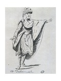 Actor Dalainval in Role of Nawab in Athalie Giclee Print by Jean Racine