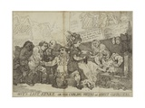 Wit's Last Stake or the Cobling Voters and Abject Canvassers Giclee Print by Thomas Rowlandson