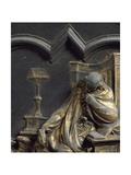 St John Evangelist, Bronze Panel Giclee Print by Lorenzo Ghiberti