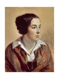 Portrait of Caroline Arnold, 1847 Giclee Print by Adolph Menzel