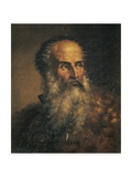 Portrait of Painter Paolo Veronese Giclee Print by Lattanzio Querena